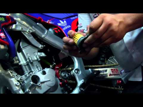 How To: Change Oil on a Honda CRF 250R