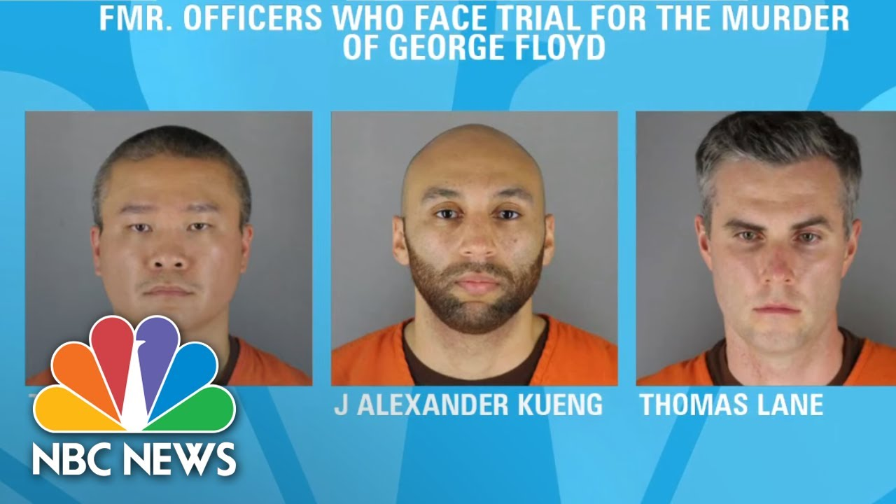 Trial Awaits Three Former Minneapolis Officers Facing Charges In George Floyd's Death   NBC News NOW