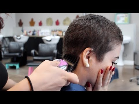 My First Haircut Since My Hair Fell Out - Day in the life Vlog