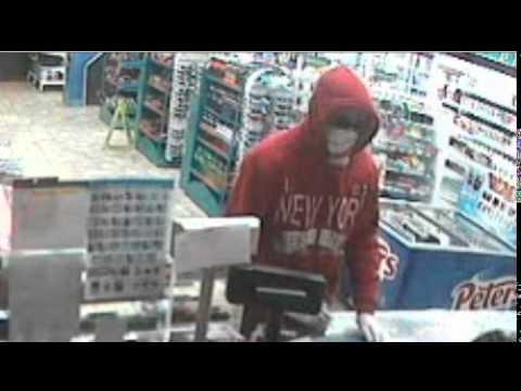Caltex Kambah armed robbery