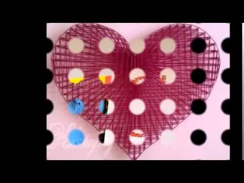 Amazing Three Creative Diy String Art Ideas   Decoration Ideas