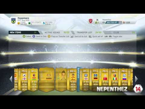 FIFA 14 PACK OPENING - GARETH BALE IN A PACK! - WEB APP INFO