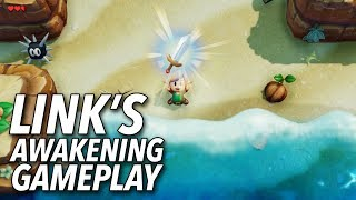 The Legend of Zelda: Link's Awakening Gameplay   E3 2019