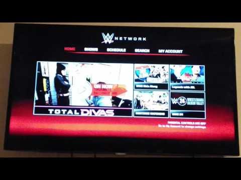 WWE Network Tutoriel Xbox one
