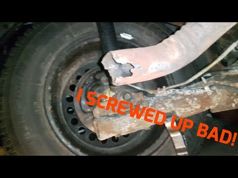 Chevy Cavalier Muffler Replacement