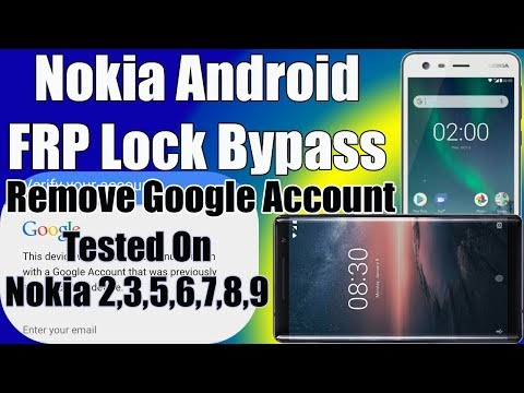Bypass Google Account On Nokia, Remove FRP Lock Without PC