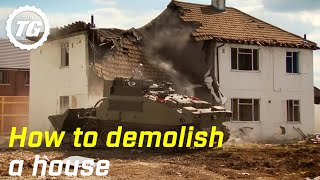 How to Demolish a House | Top Gear | BBC