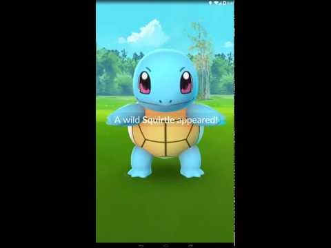 catch Squirtle #006 in pokémon go