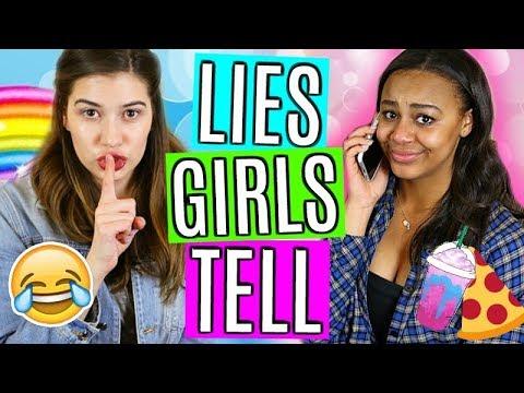 10 Lies ALL Girls Tell!