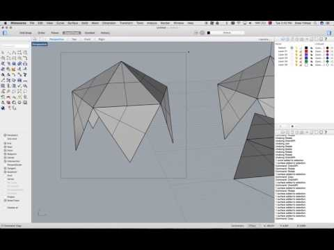 drawing icosahedron in rhinoceros