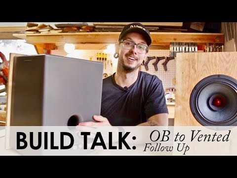 Let's Talk About Making Mistakes || OB Speaker Build Follow Up