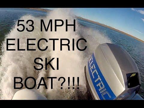World's Fastest Solar Powered Electric Water Ski Boat  (full documentary)
