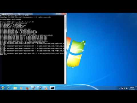 how to make bootable pendrive  without software