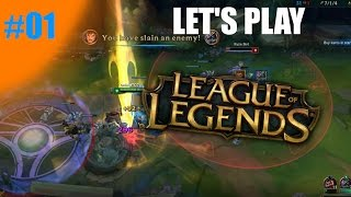 Let's Play League Of Legends - Episode 1 - You Spin Me Right Round!