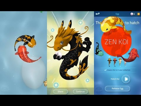 Zen Koi - Fish Game: Turn Your Fish into Dragon