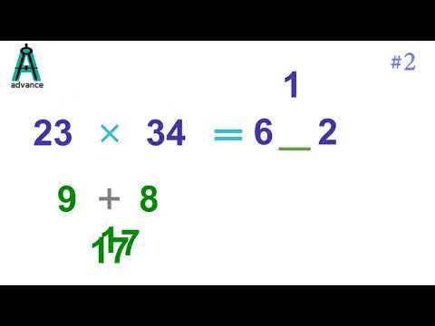 How to multiply  2 digit numbers
