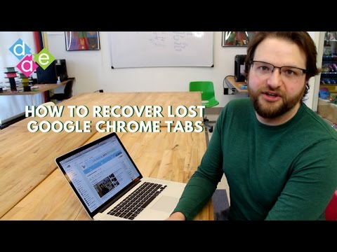 How to Recover Your Lost Tabs in Google Chrome
