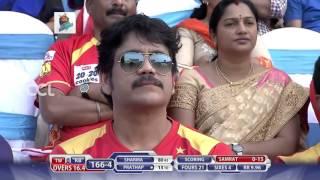 CCL6 Final Match - Telugu Warriors vs Bhojpuri Dabanggs    1st Innings Part 3/3