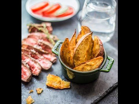 Healthy Baked Sweet Potato Fries Recipe