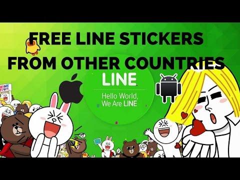 cara download sticker line gratis android