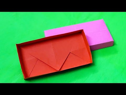 Origami Box : Rectangular Paper Box (Easy) Tutorial