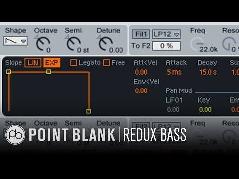 How to Make Dubstep part 2/5 - Redux Bass in Ableton