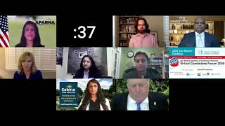 San Ramon Mayoral Candidates Forum 2020