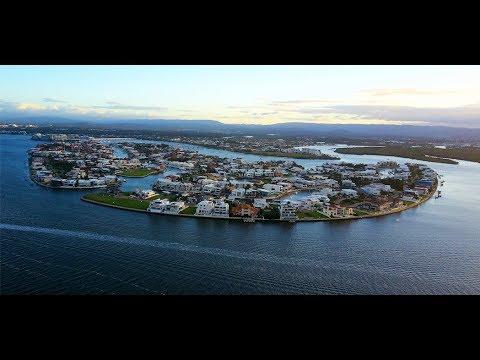 Flying Over Australia's Most Prestigious & Secure Residential Address