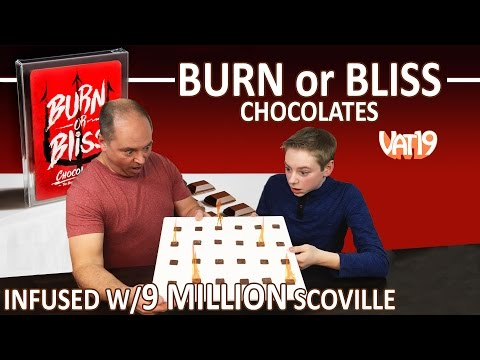 Burn or Bliss spicy chocolate (9 million Scoville, 2 packs) Vat19 : Crude Brothers