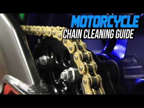 How To Clean a Motorcycle Chain | Sportbiketrackgear.com