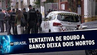 Tentativa de assalto a banco deixa dois mortos em São Paulo | SBT Brasil (02/06/20)