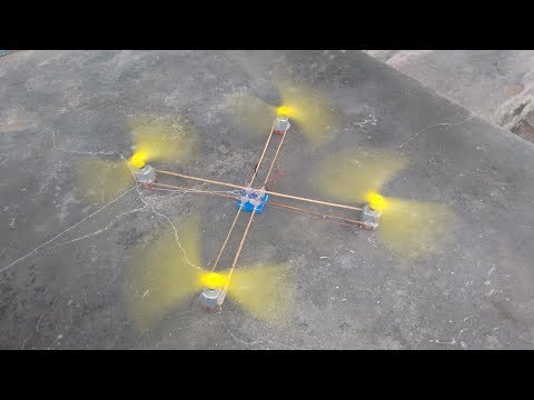 How to make quadcopter at home very easy DC MOTOR