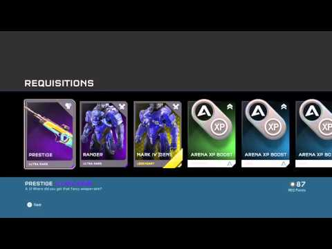 Halo 5 guardians - Arena packs (week 5)~HOLY GOD