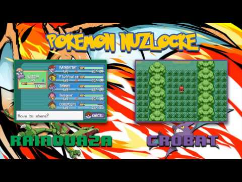 Pokemon FireRed Omega Co-Op Nuzlocke: Part 2 - Crobat is bad at Starter Pokemon