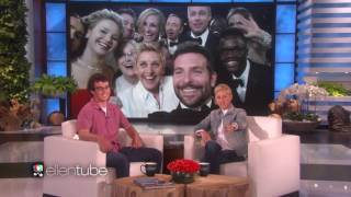 ELLEN MEETS HER SELFIE RECORD CHICKEN NUGGET TWITTER OPPONENT_WOW! Guy TRYING BEAT HER RECORD_VIDEO