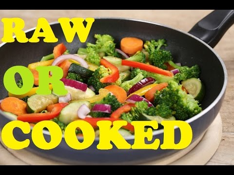 Healthiest way to Consume Vegetable | RAW vs COOKED VEGETABLES | Super Food for Weight Loss