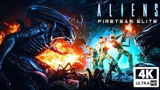 ALIENS: FIRETEAM ELITE All Cutscenes (Game Movie) 4K 60FPS Ultra HD