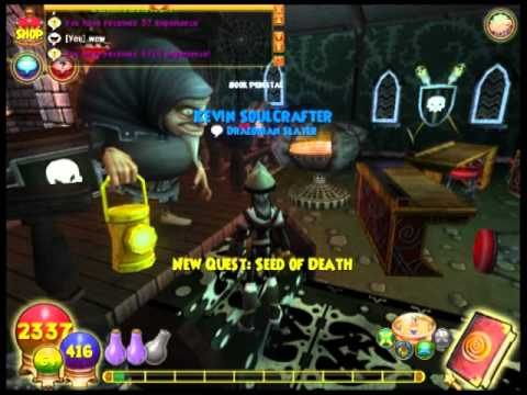 Wizard101 - Level 48 Death Quest
