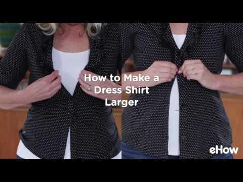 How to Make a Shirt Bigger