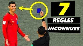 7 règles de football que tu IGNORES !