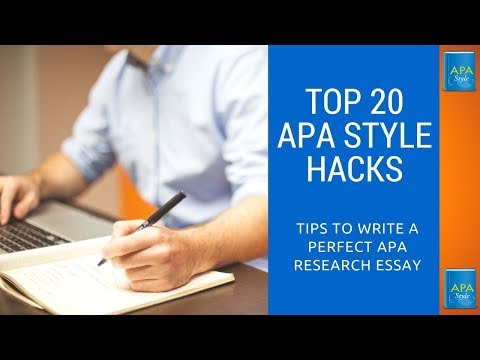 APA Style Research Paper Format: Review of Model APA Research Paper
