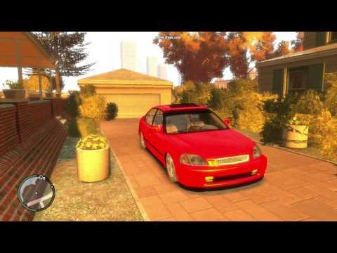 GTA IV   Honda Civic Tanıtım