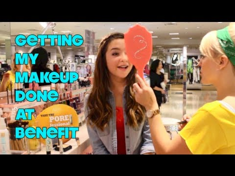 Getting My Makeup Done At Benefit! + Their New Makeup! ♡ -MickieRay22