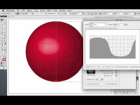 Vector Tuts+ Quick Tip — Create a Wireframe Globe Using Illustrator's 3D Revolve Effect