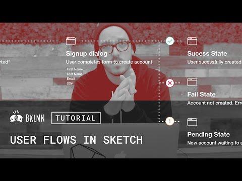 Tutorial: Delivering Details, Part 2: User Flows in Sketch