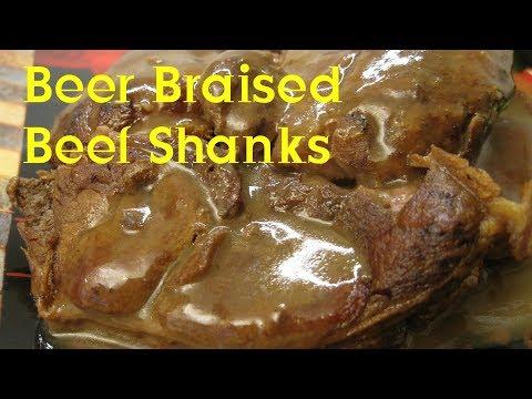 Beer Braised Beef Shanks Recipe Tutorial S3 Ep303