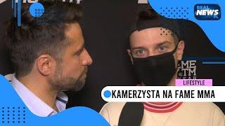 Kamerzysta: Odpowiadam za teksty Kruszwila w disco polo | FAME MMA 5 - II konferencja