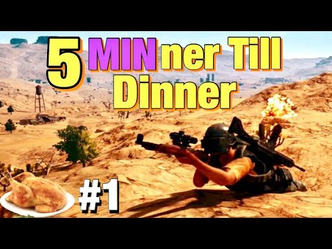 PUBG: 5 MINner Chicken Dinner! Episode 1