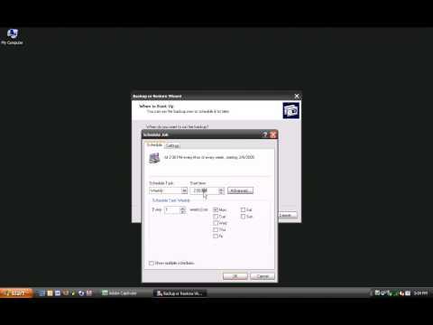 EdgefieldDaily - Windows XP Backup Utility
