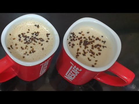 2 Minutes Frothy Creamy Coffee Homemade Recipe| Without Machine Espresso Coffee Recipe in Urdu/Hindi